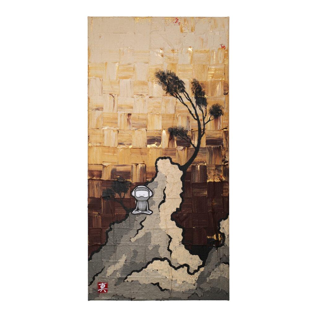 maoricolor painting meditation ninja